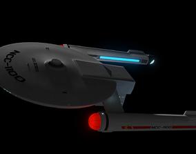 3D model Detroyat-Class Destroyer Mark-1