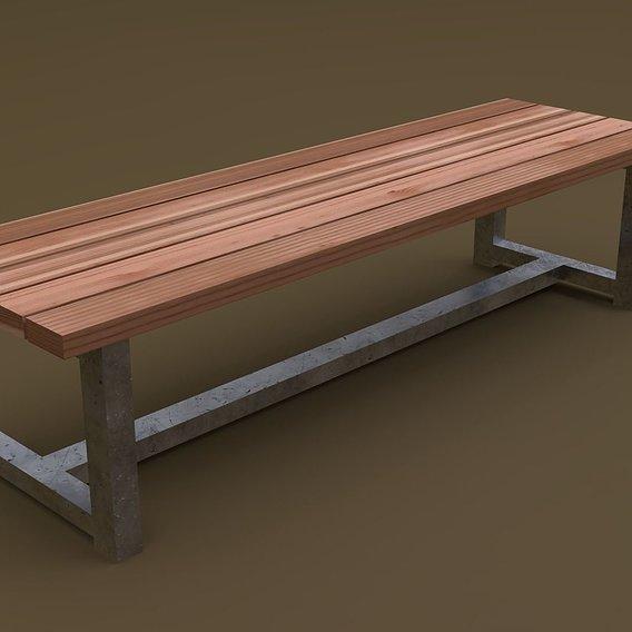 Bench 02 R