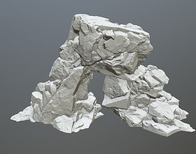 3D printable model printer rock print