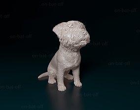 West highland white terrier 3D printable model