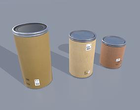 Drum barrels pack 1 3D asset