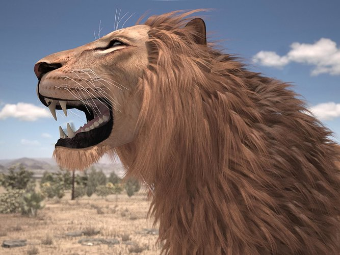 lion-the-king-textured-hair-3d-model-rig