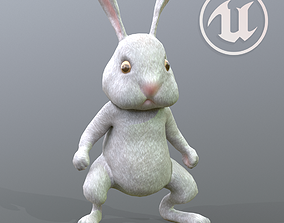 Rabbit Character 3D asset