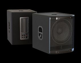 Compact Loudspeaker 3D model