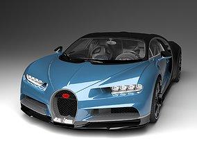 Bugatti Chrion 2019 3D Model