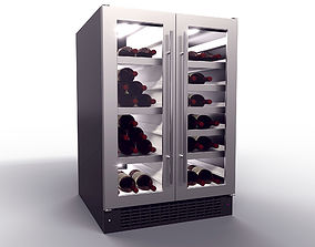 alcohol 3D Wine Fridge realtime