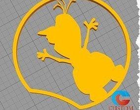 Disney Frozen Inspired Mouse Ear - 3D printable model 2