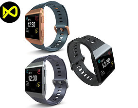 3D model Fitbit Ionic All Colors