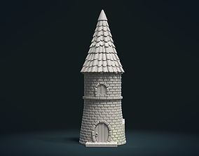 3D printable model Tower fantasy House