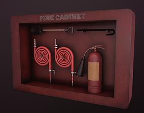 FIRE CABINET ASSET 3D model