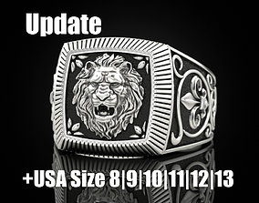 Ring lion Update 3D printable model