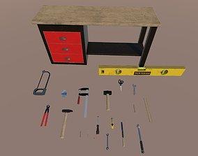 Various tools pack 3D model
