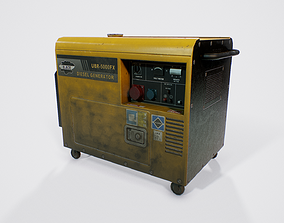 Engine Generator 3D model