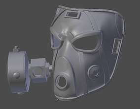 3D printable model Krieg Mask Borderlands 2
