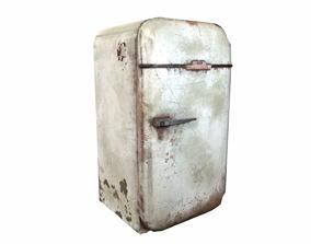 fridge 3D asset game-ready PBR