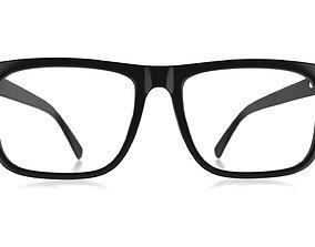 plastic 3D model Eyeglasses