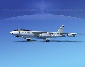 Boeing B-47E Stratojet V04 3D model
