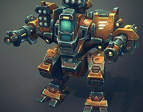 3D asset Mech Constructor - Light and Medium Robots