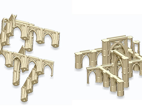 3D printable model GOTHIC ELEMENTS 1