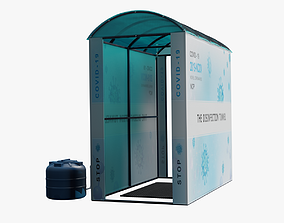 3D Disinfection tunnel