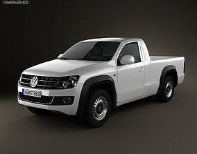 Volkswagen Amarok Single Cab 2010 3D