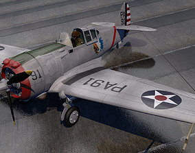 3D Curtiss P-36A Hawk
