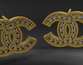 Earring chanel 3D printable model