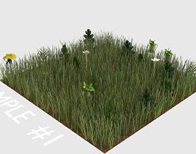 3D asset grass blender animation