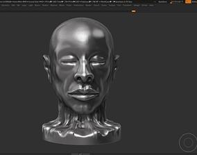 human modern sculpture 3d print model 63