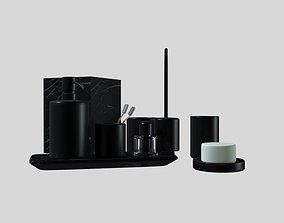 3D interior bath accessories