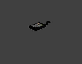3D model Hard disk caviar black