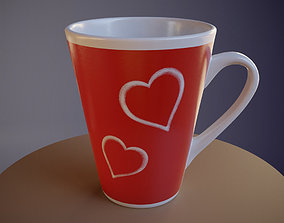 3D model Lovely Coffee Cup