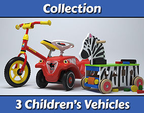 3D model Childrens Vehicles Collection