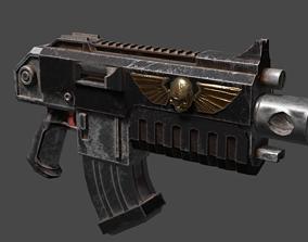 Boltgun - Bolter - Scifi Gun 3D model