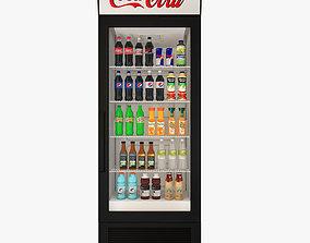 Fridge Coca cola 3D asset