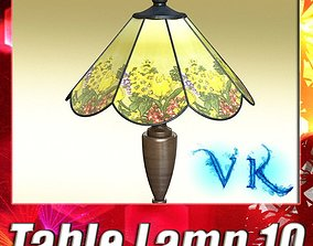 Victorian Table Lamp 10 3D model