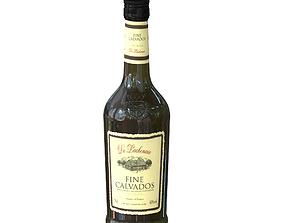 3D Calvados Finest 70cl bottle