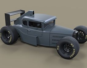 3D model Hot rod Formula One