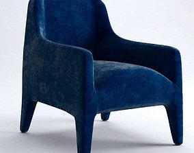 3D model Kelly armchair KL70H