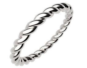 Ladies Rope Ring 3D print model