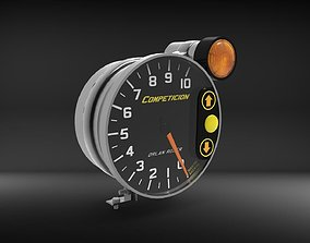 Tachometer Orlan Rober Mid-High Poly 3D model