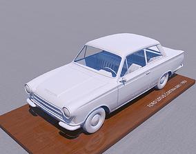 FOR-D CORTINA LOTUS MK1 1963 3D print model