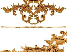 3D print model Ornament gold