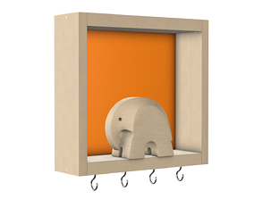 3D Key Holder Elephant