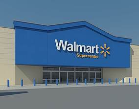 3D model Walmart Supercenter