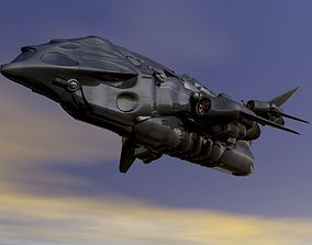 Federation Cargo Military 3D