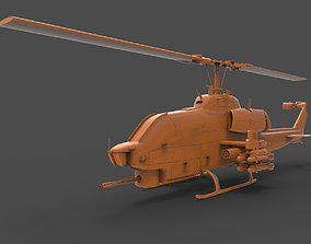 AH 1 Helicopter 3D print model