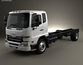 3D model UD Trucks UD1800 Chassis Truck 2011
