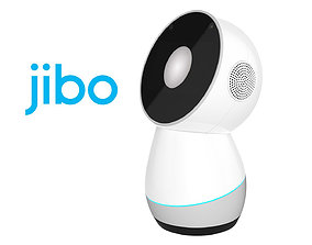 3D model Jibo Robot