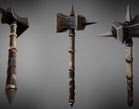 3D model Metal Warhammer 02